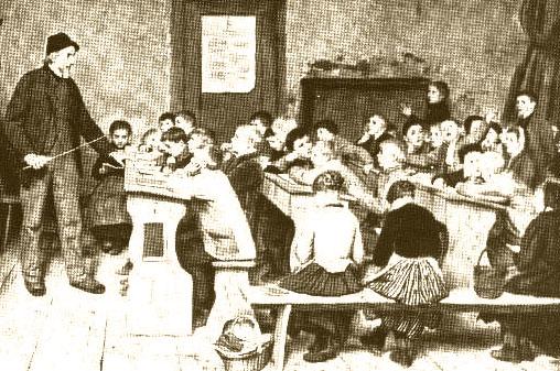 Erstes Pleintinger Schulhaus